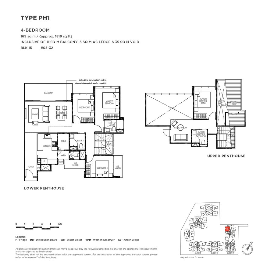 The-Gazania-Condo-Floor-Plan-Penthouse-4-Bedroom-PH1