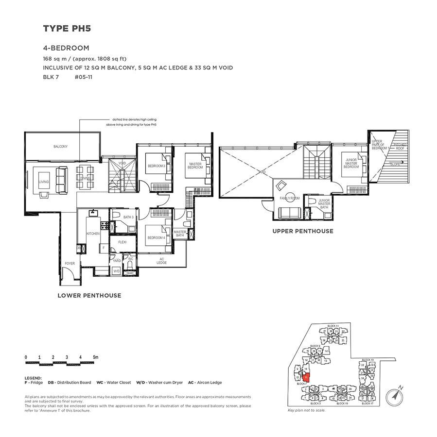 The-Gazania-Condo-Floor-Plan-Penthouse-4-Bedroom-PH5