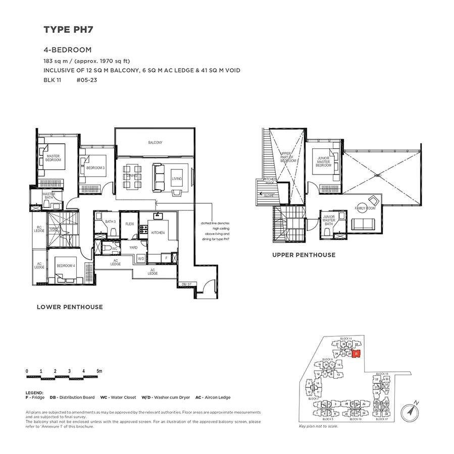 The-Gazania-Condo-Floor-Plan-Penthouse-4-Bedroom-PH7