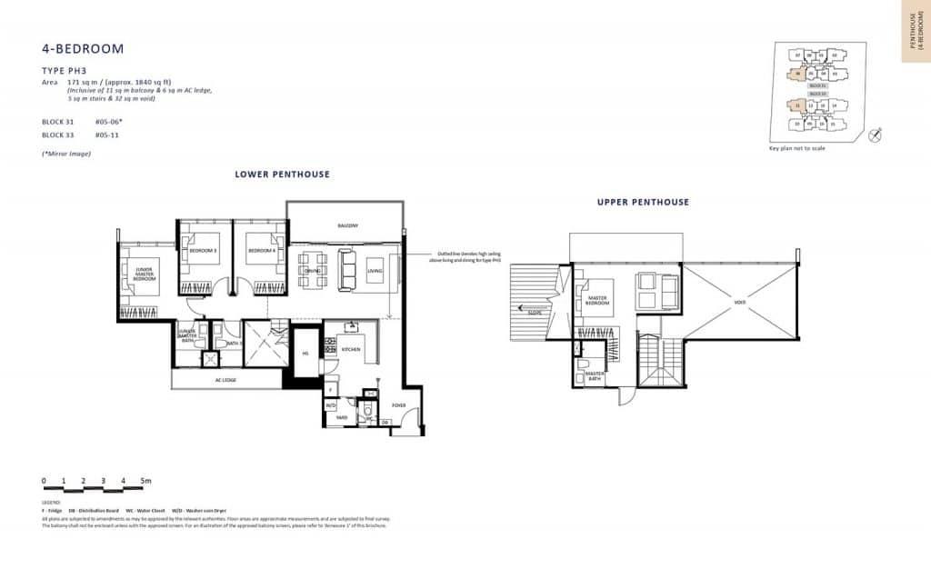 The-Lilium-Condo-Floor-Plan-Penthouse-4-Bedroom-PH3