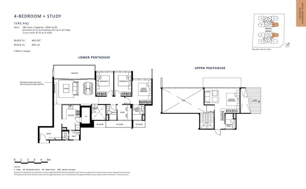 The-Lilium-Condo-Floor-Plan-Penthouse-4-Bedroom-Study-PH2