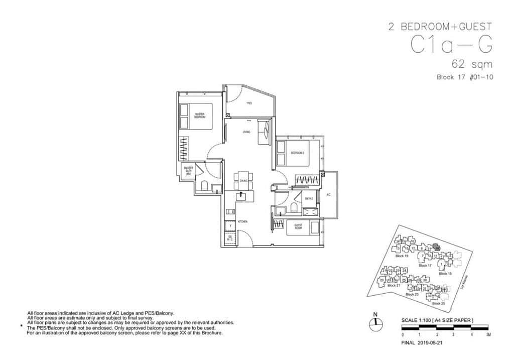 View-at-Kismis-Condo-Floor-Plan-2-Bedroom-Guest-C1aG