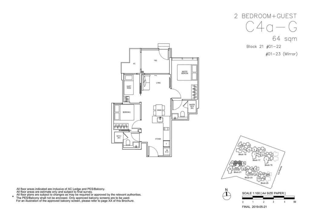 View-at-Kismis-Condo-Floor-Plan-2-Bedroom-Guest-C4aG