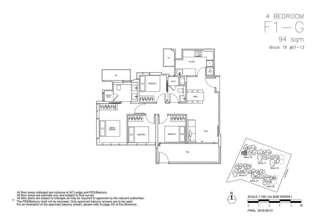 View-at-Kismis-Condo-Floor-Plan-4-Bedroom-F1G