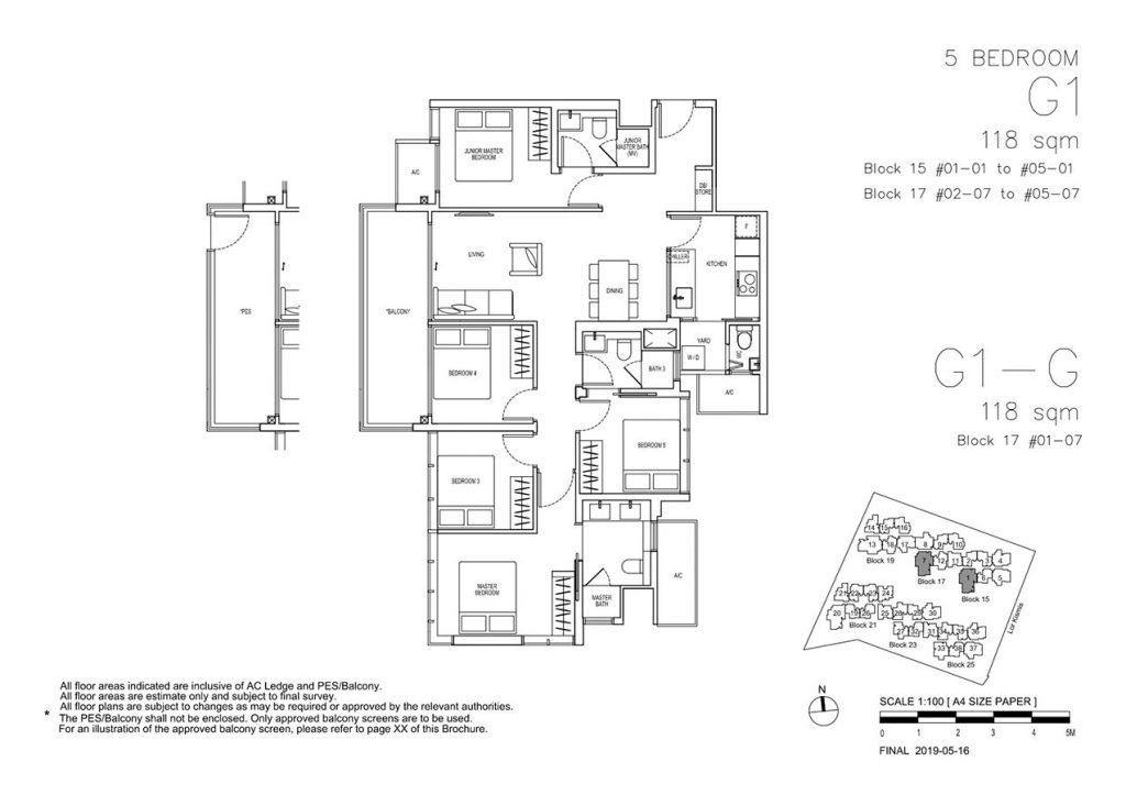 View-at-Kismis-Condo-Floor-Plan-5-Bedroom-G1-G1G