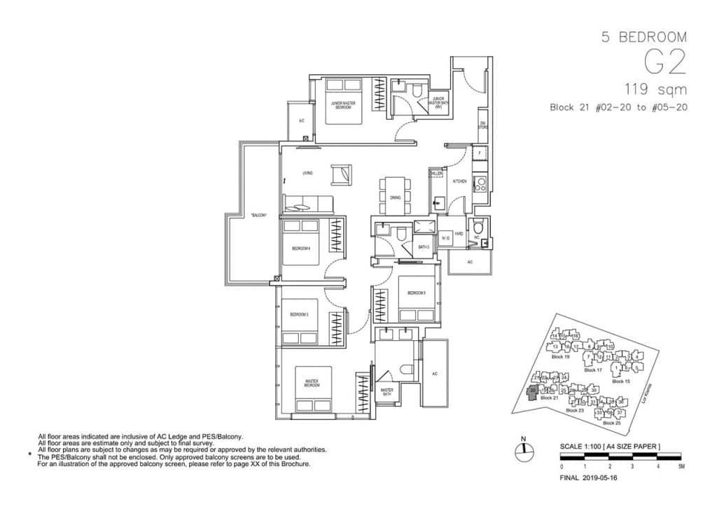 View-at-Kismis-Condo-Floor-Plan-5-Bedroom-G2