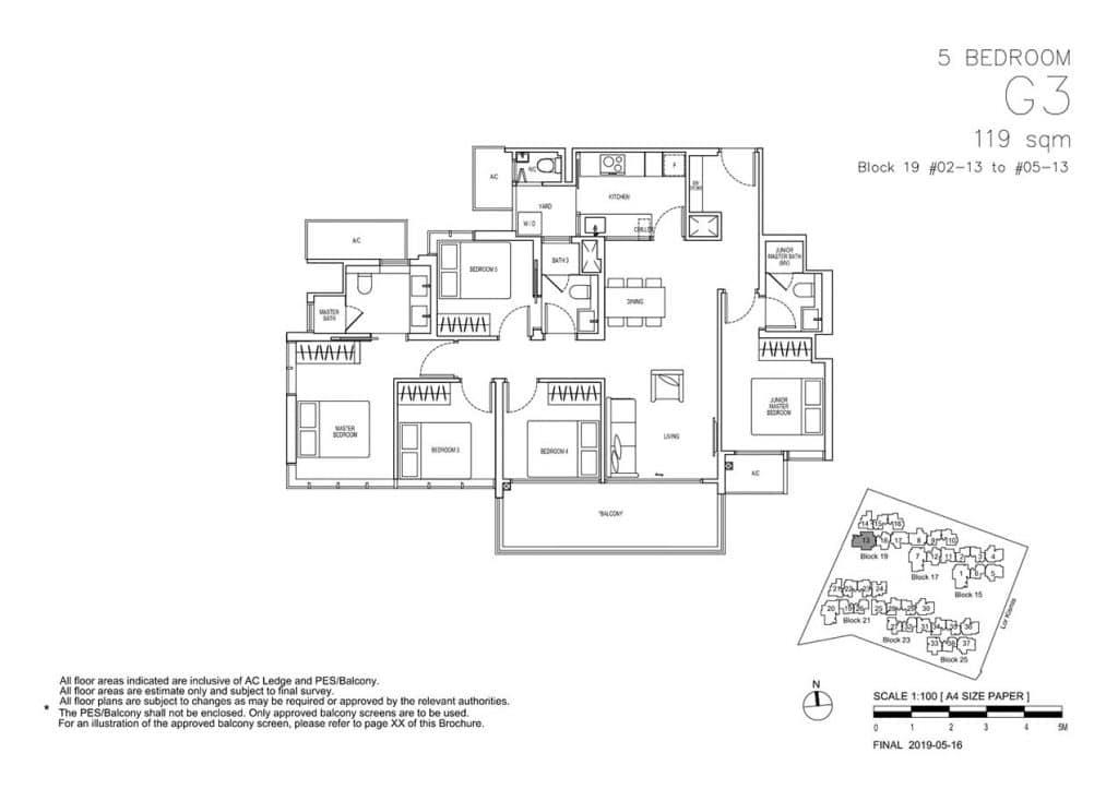 View-at-Kismis-Condo-Floor-Plan-5-Bedroom-G3