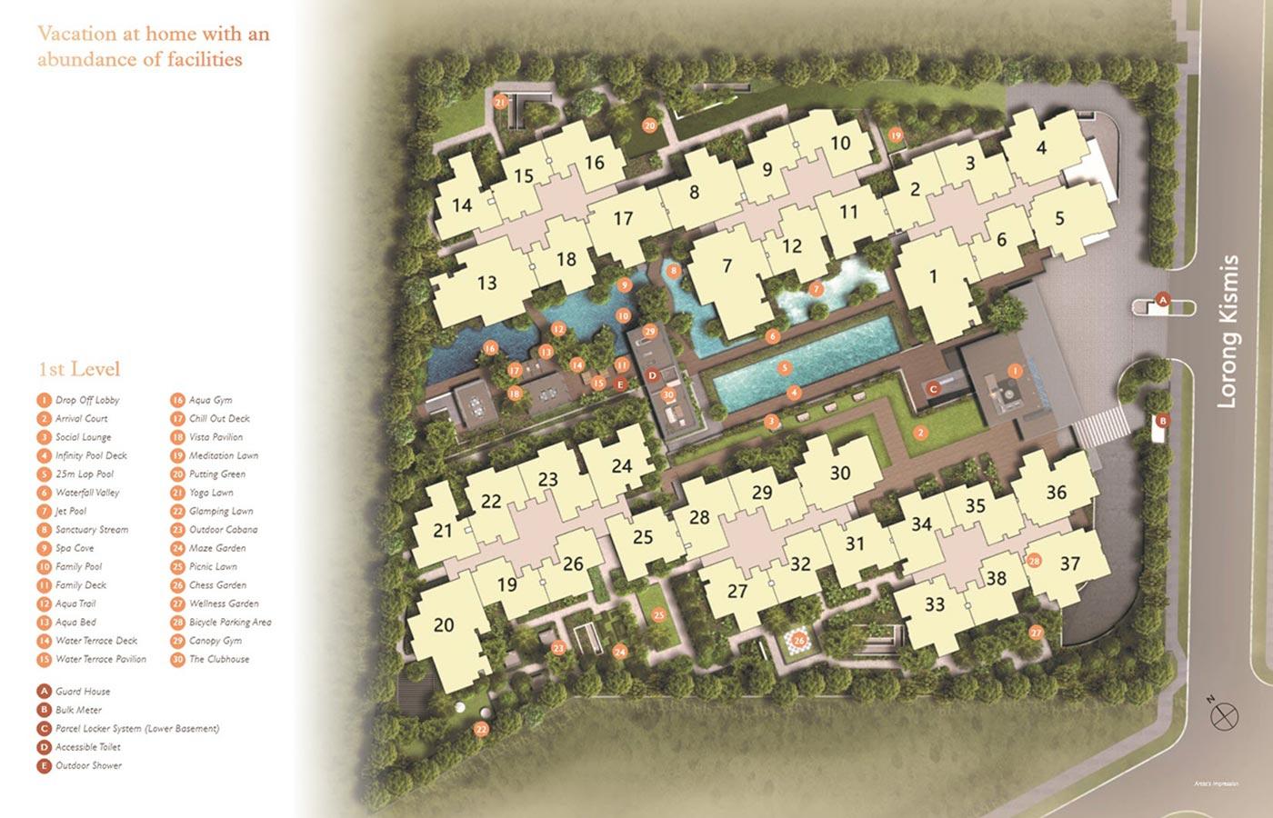 View-at-Kismis-Condo-Site-Plan-1st-Level