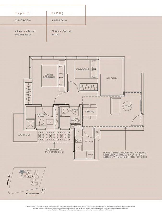Wilshire-Residences-Condo-Floor-Plan-2-Bedroom-B-BPH