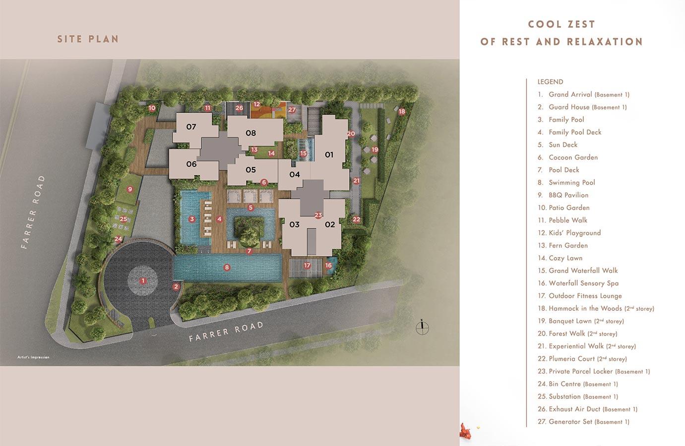 Wilshire-Residences-Condo-Site-Plan