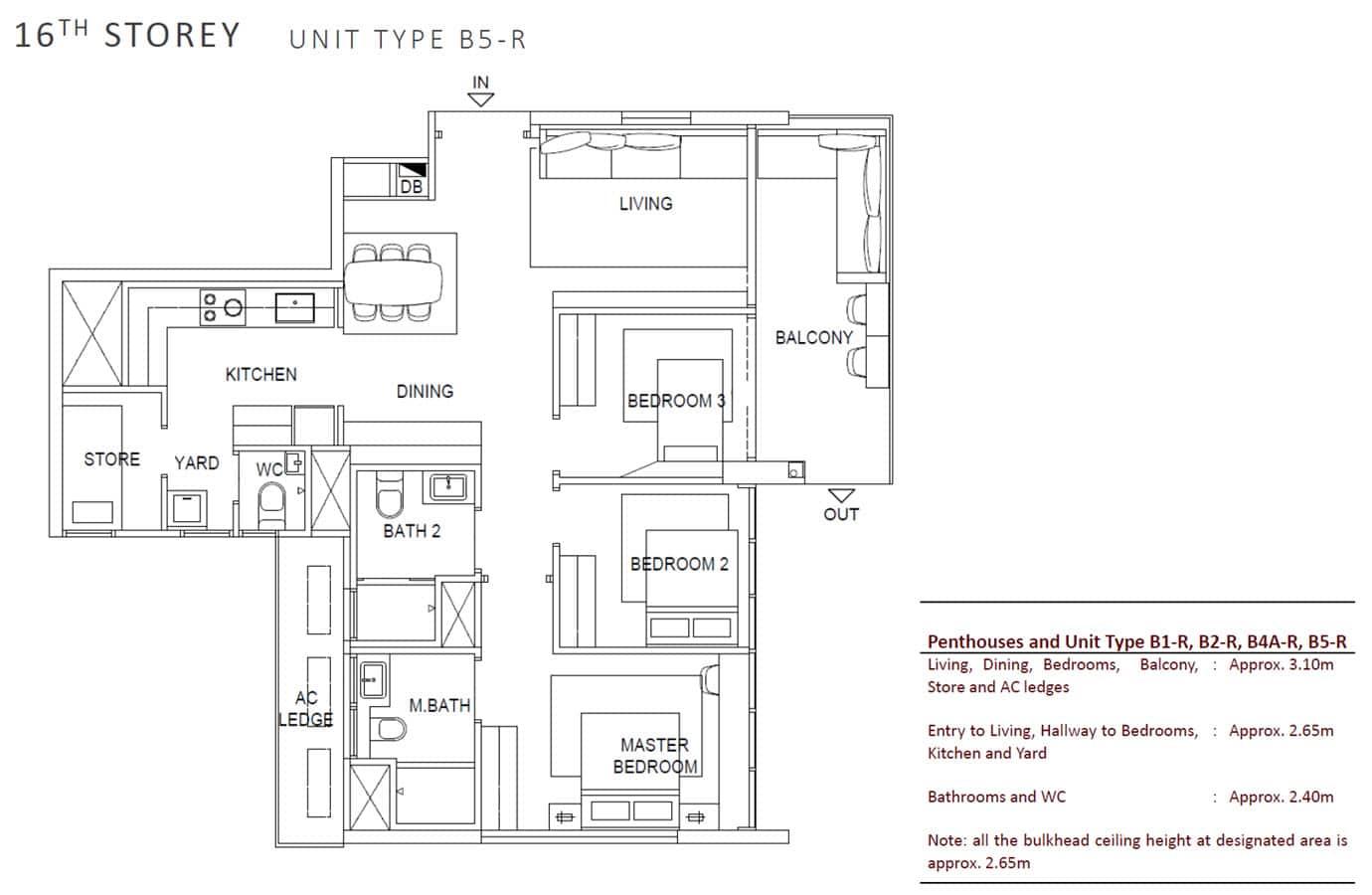 OLA - Show Unit - 3 Bedroom + 1 Premium B5-R