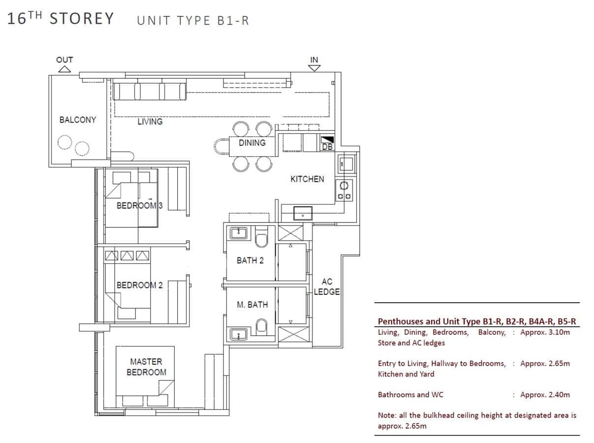 OLA - Show Unit - 3 Bedroom B1-R