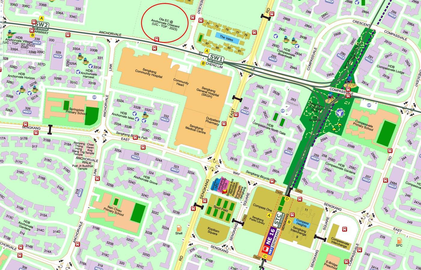 Ola-Executive-Condo-Street-Directory-Map