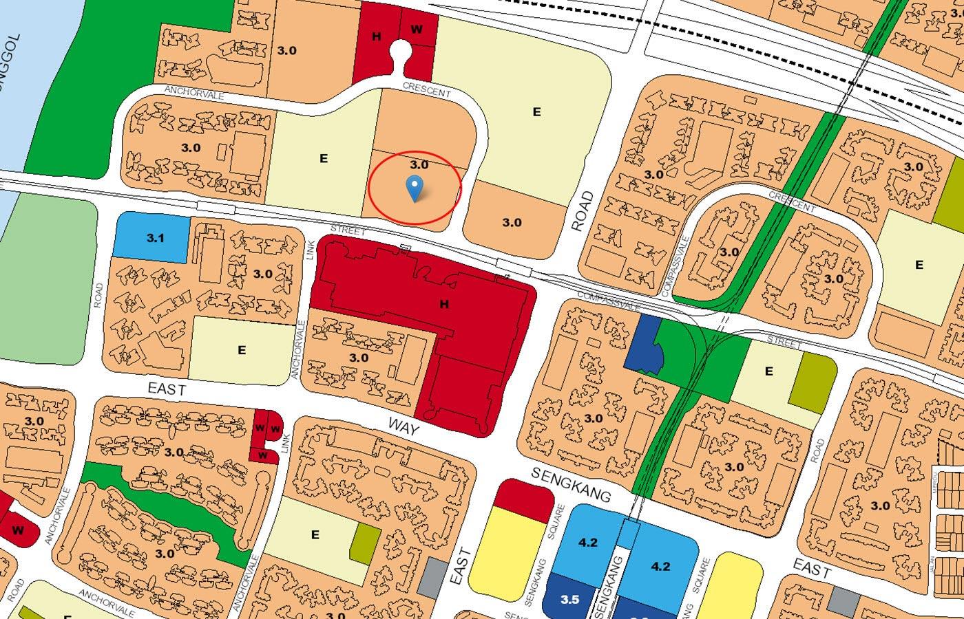Ola-Executive-Condo-URA-Master-Plan-Map