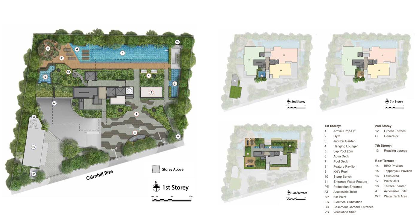 Cairnhill 16 - Site Plan