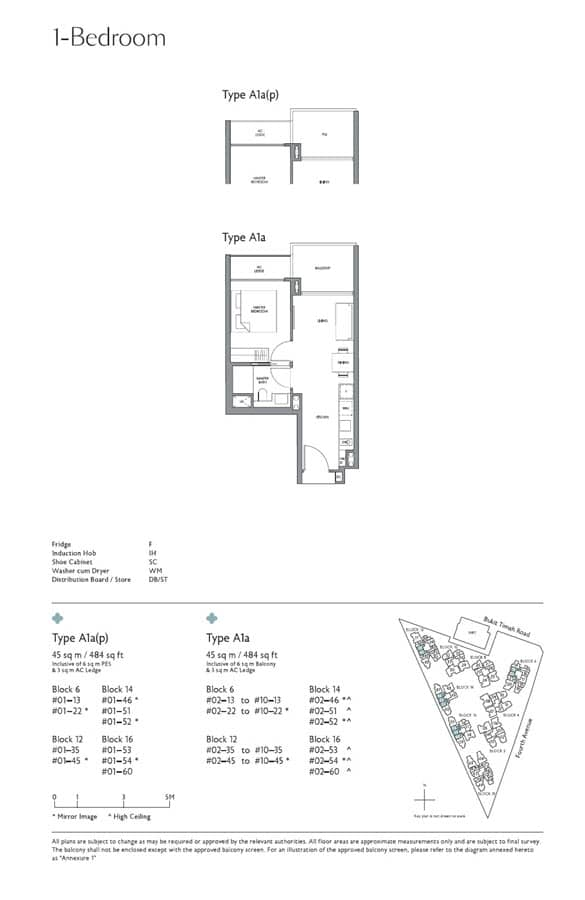 Fourth Avenue Residences Floor Plans Singapore Excellent Layout