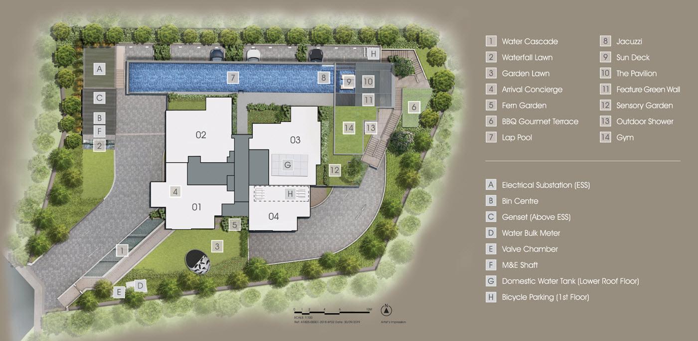 Grange 1866 - Site Plan