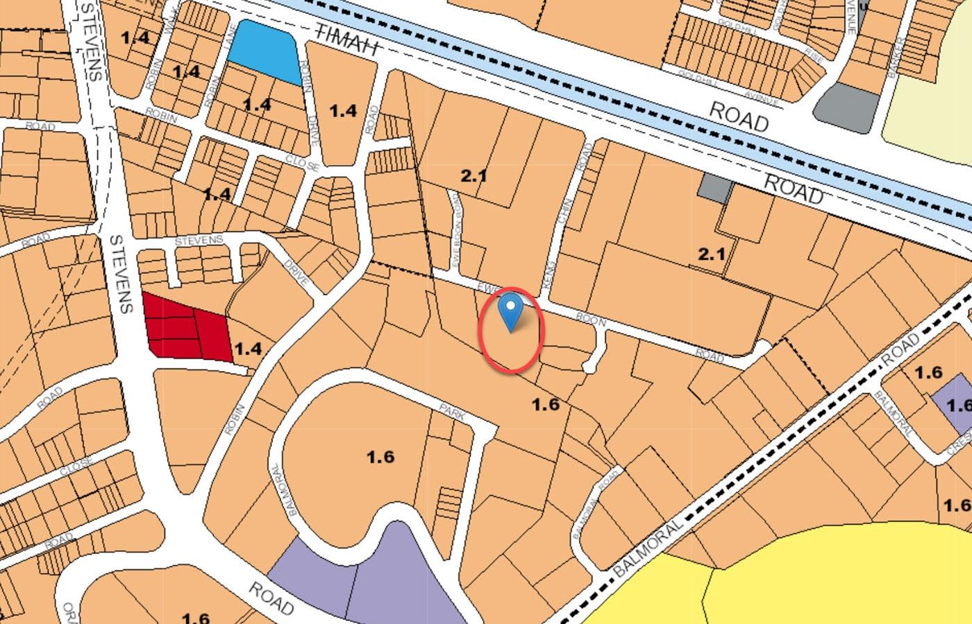 Juniper Hill - URA Master Plan Map