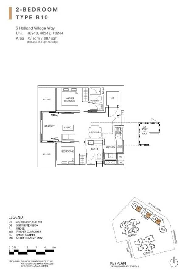One Holland Village Residences Floor Plans Singapore Excellent Layout