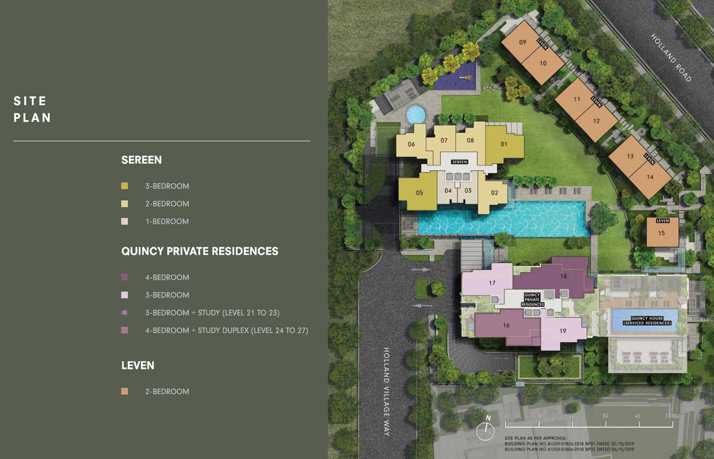 One Holland Village Residences - Site Plan