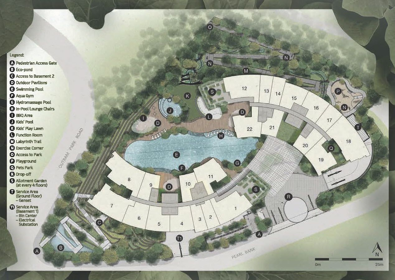 One Pearl Bank - Site Plan