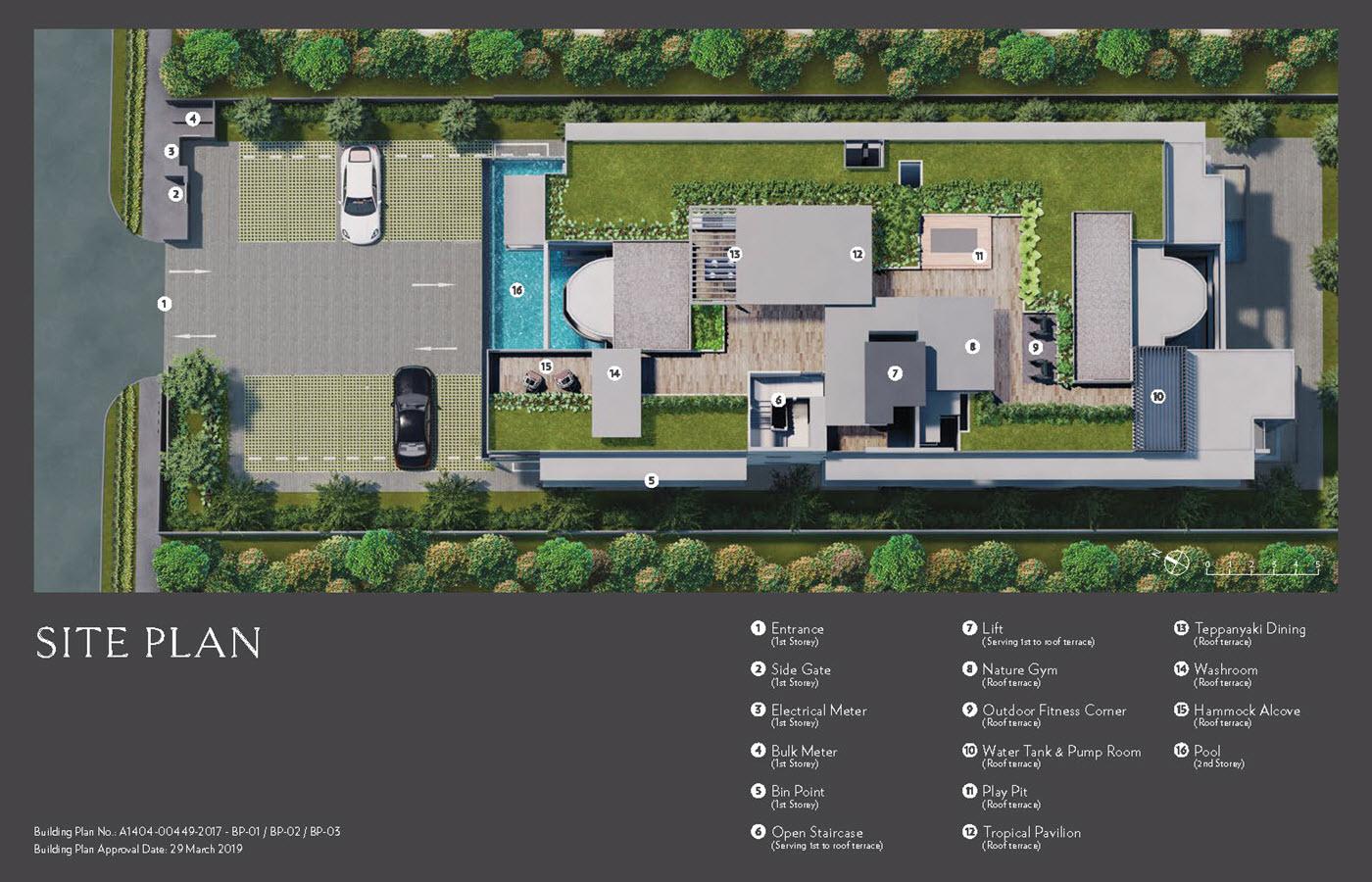 Seraya Residences - Site Plan