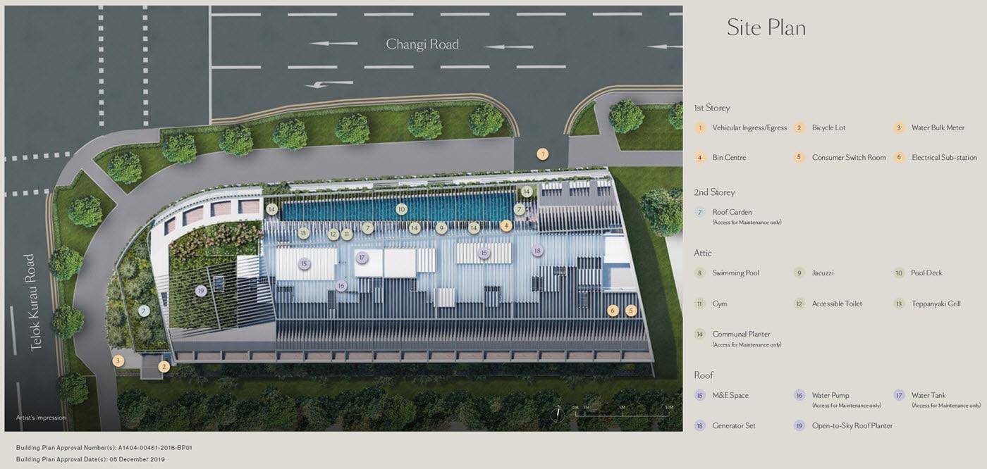 Tedge - Site Plan