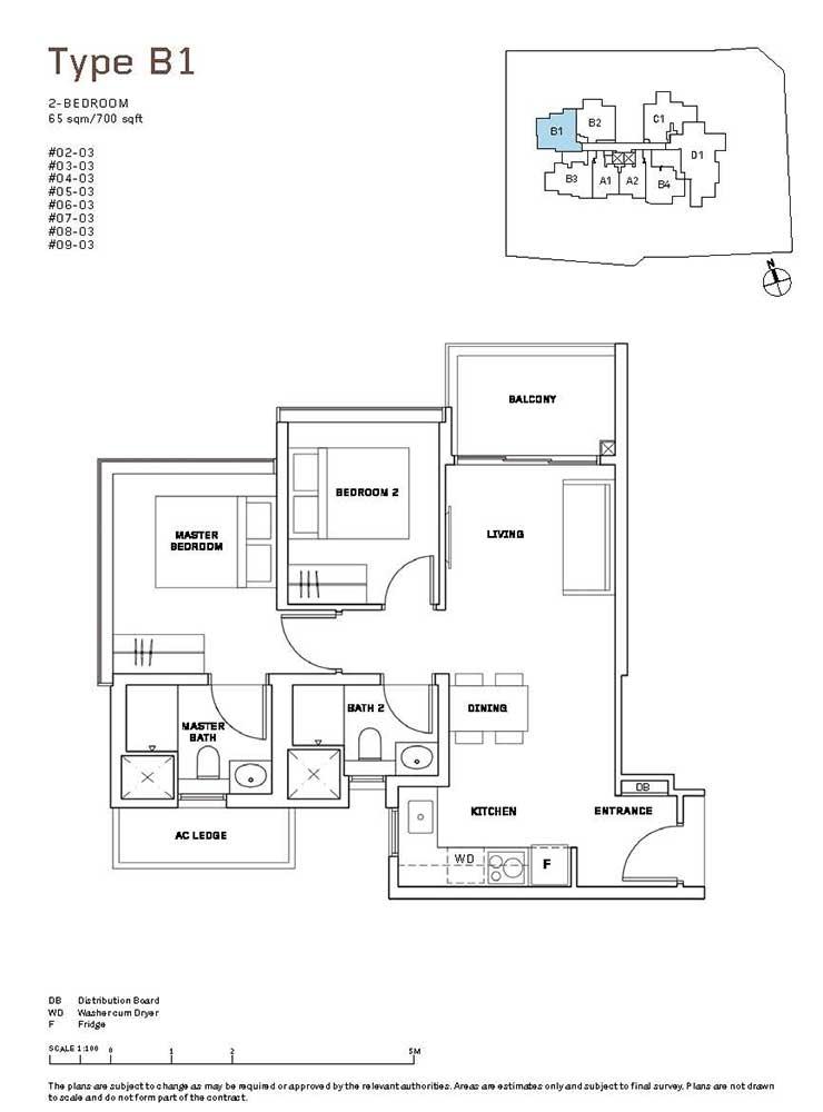 MYRA-Condo-Floor-Plan-2-Bedroom-B1