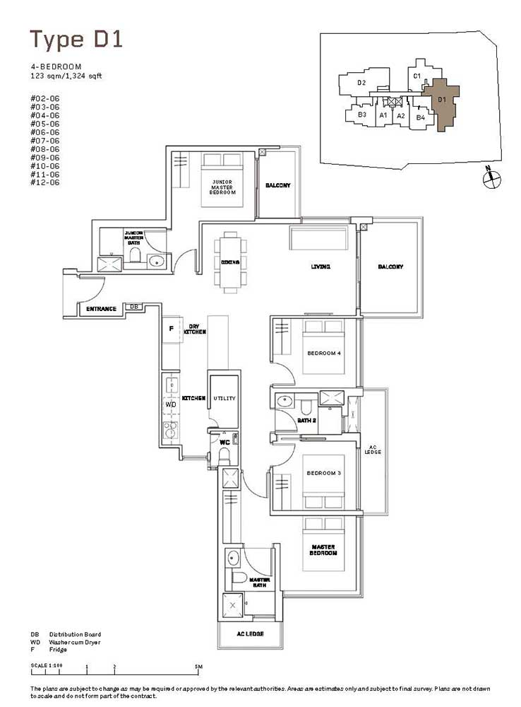 MYRA-Condo-Floor-Plan-4-Bedroom-D1