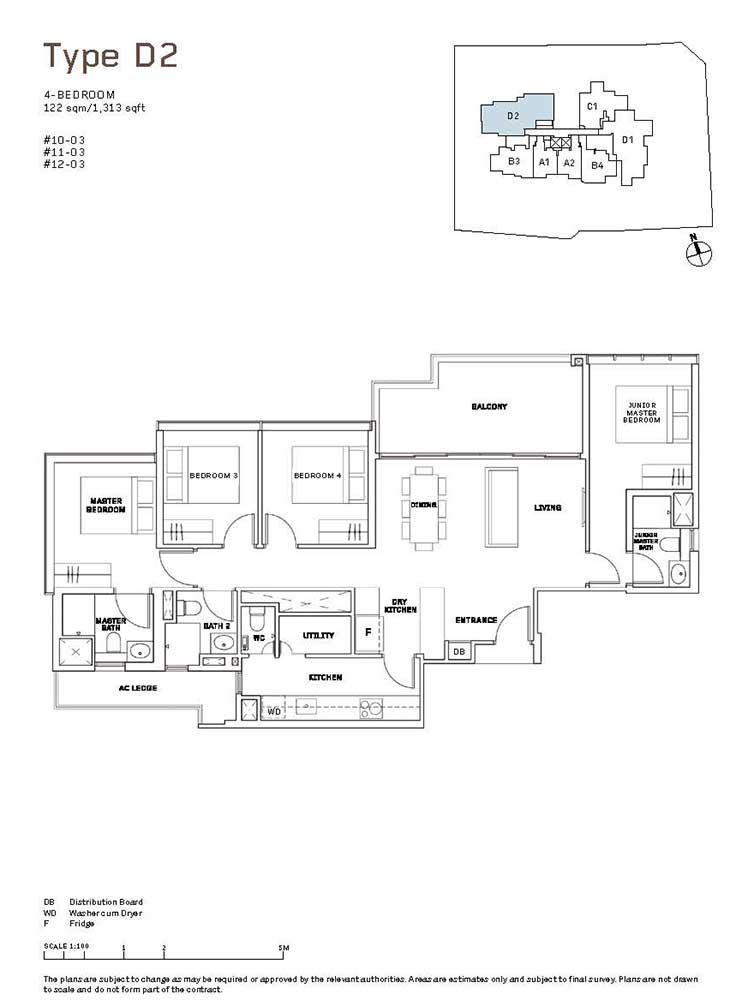 MYRA-Condo-Floor-Plan-4-Bedroom-D2