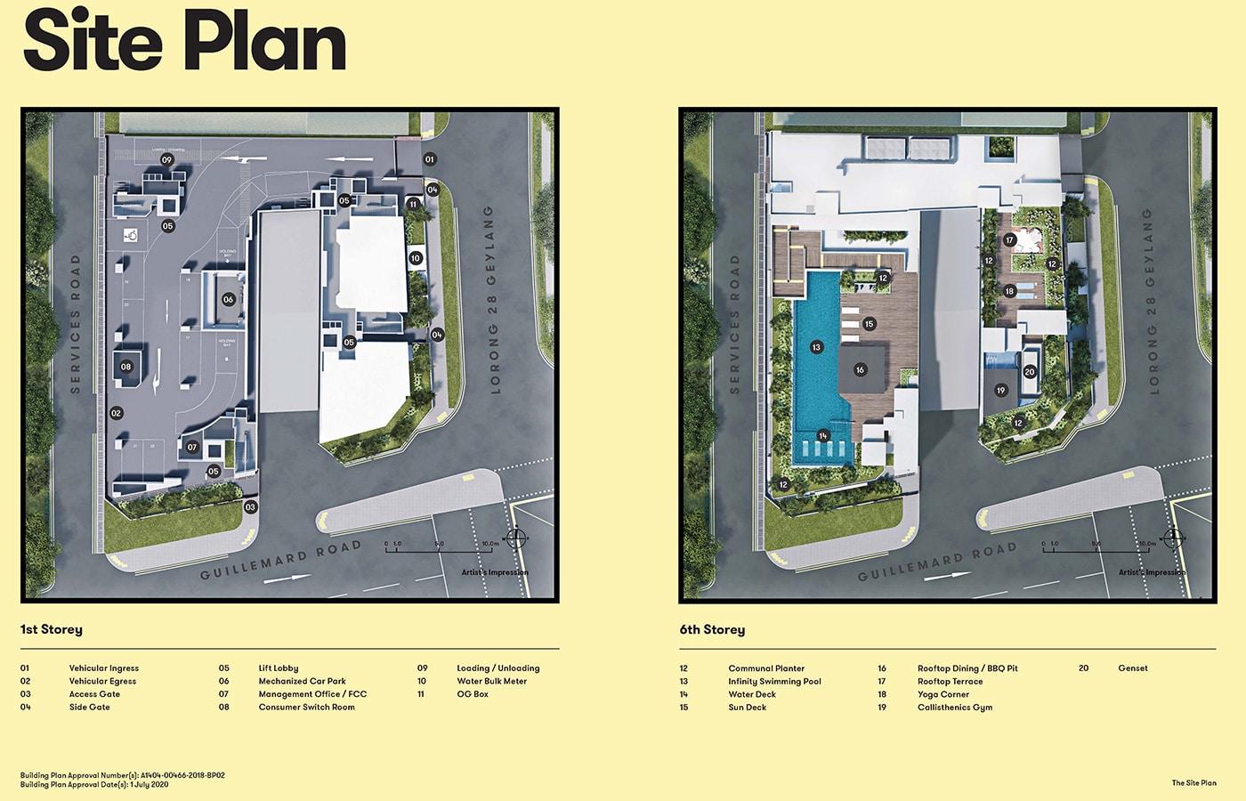 NoMa Condo Facilities - Site Plan