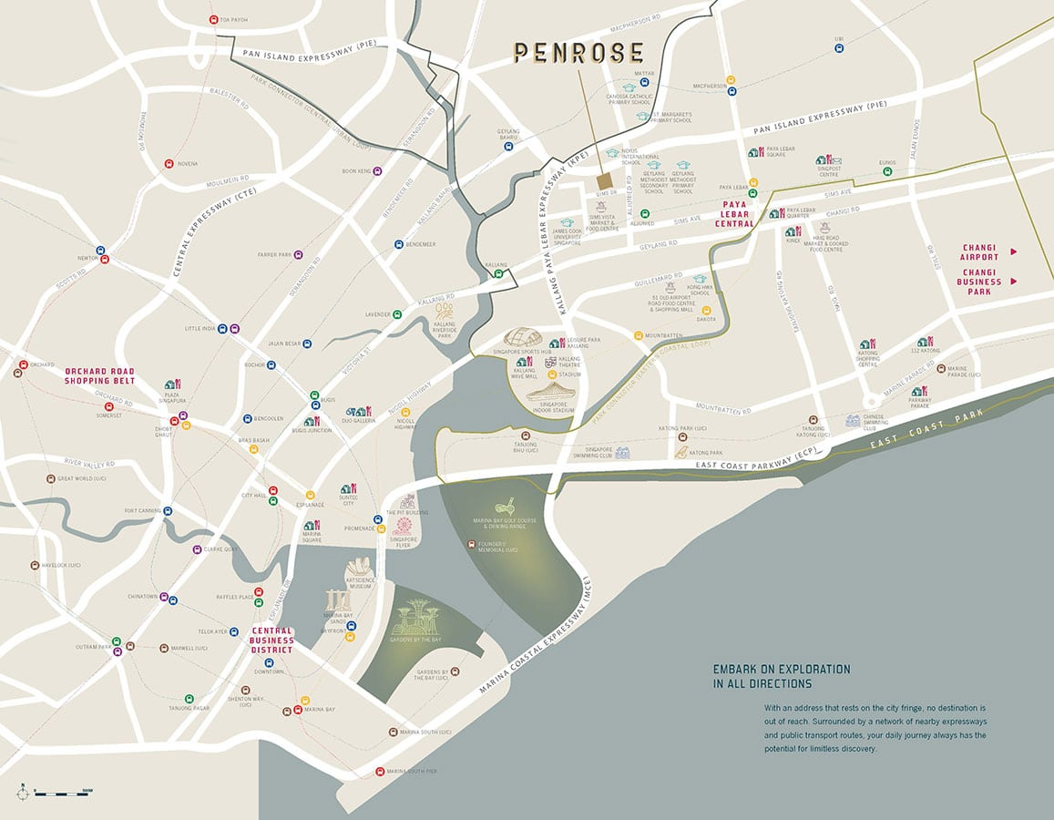 Penrose Condo Location - Location Map