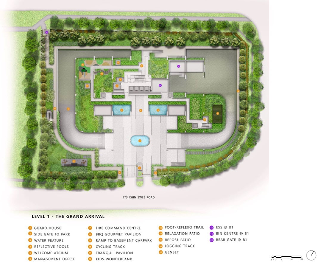 The-Landmark-Condo-Facilities-Site Plan
