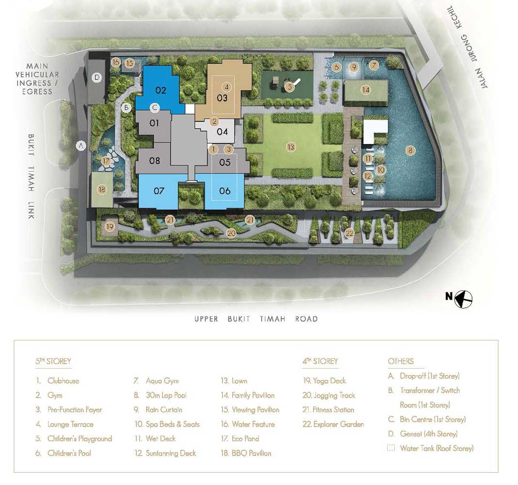The-Linq-At-Beauty-World-Condo-Facilities-Site-Plan