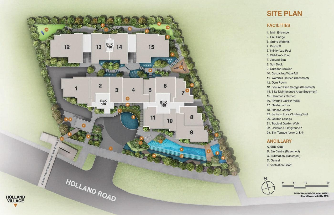 Van Holland Condo Facilities - Site Plan