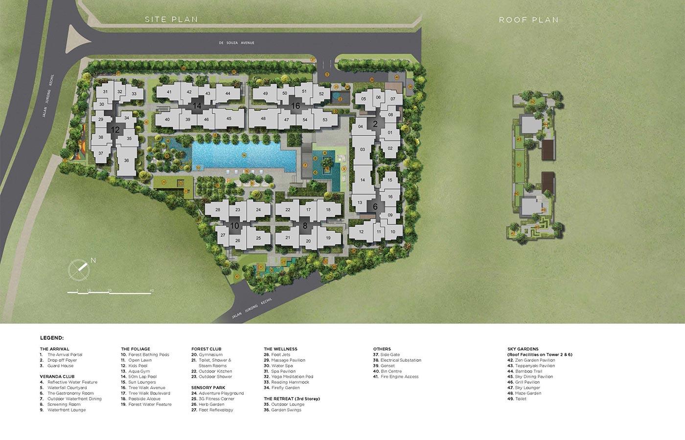 Verdale Condo Facilities - Site Plan
