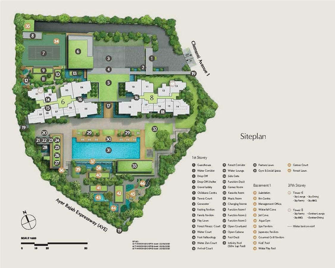 Clavon Condo Facilities - Site Plan