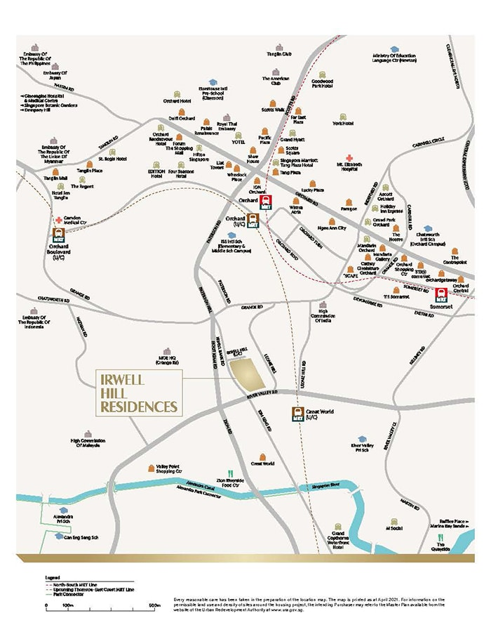 Irwell Hill Residences Condo Location - Location Map