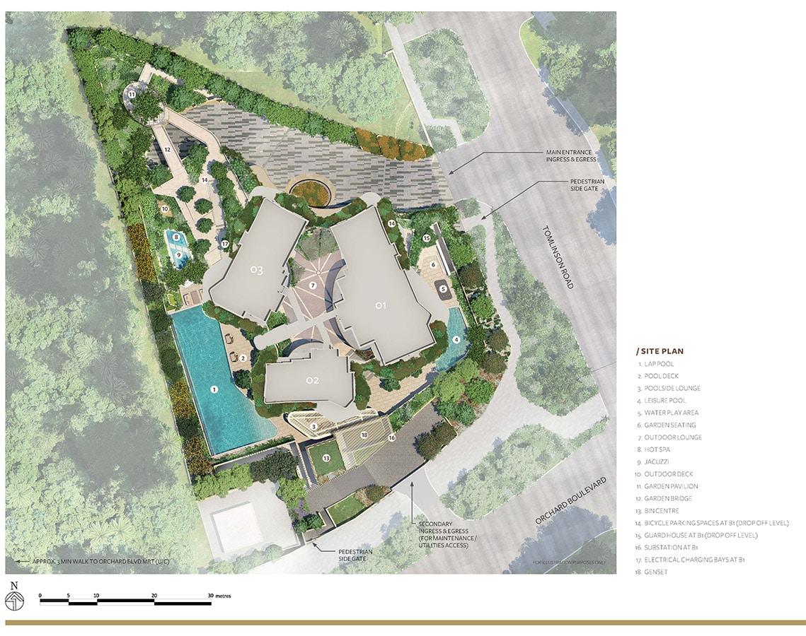 Park Nova Condo Facilities - Site Plan