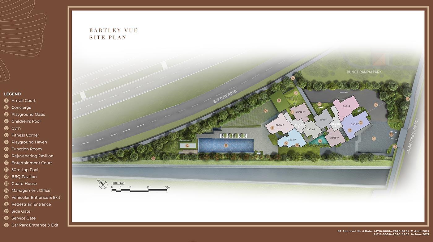 Bartley Vue Condo - Site Plan